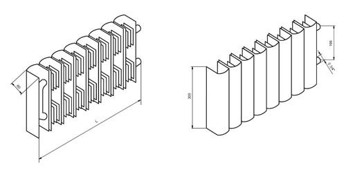 Трубный радиатор Maxiterm