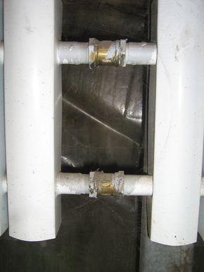 Радиаторы в теплице